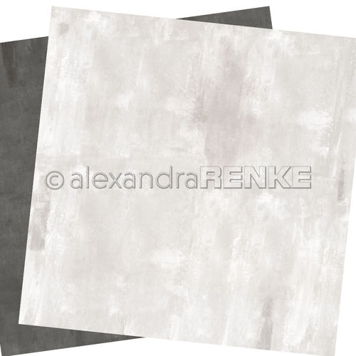 A. RENKE - Carta double-sided 'calm middle grey'