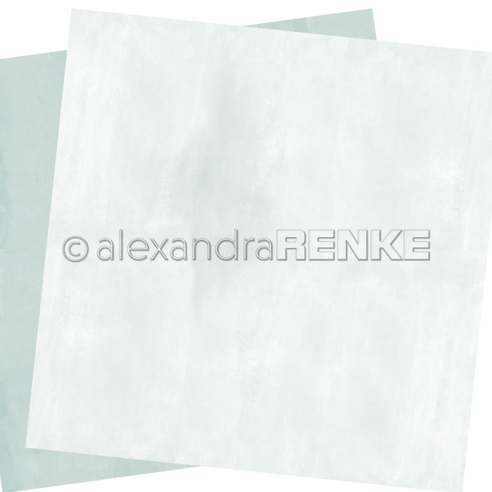 A. RENKE - Carta double-sided ''calm light blue'