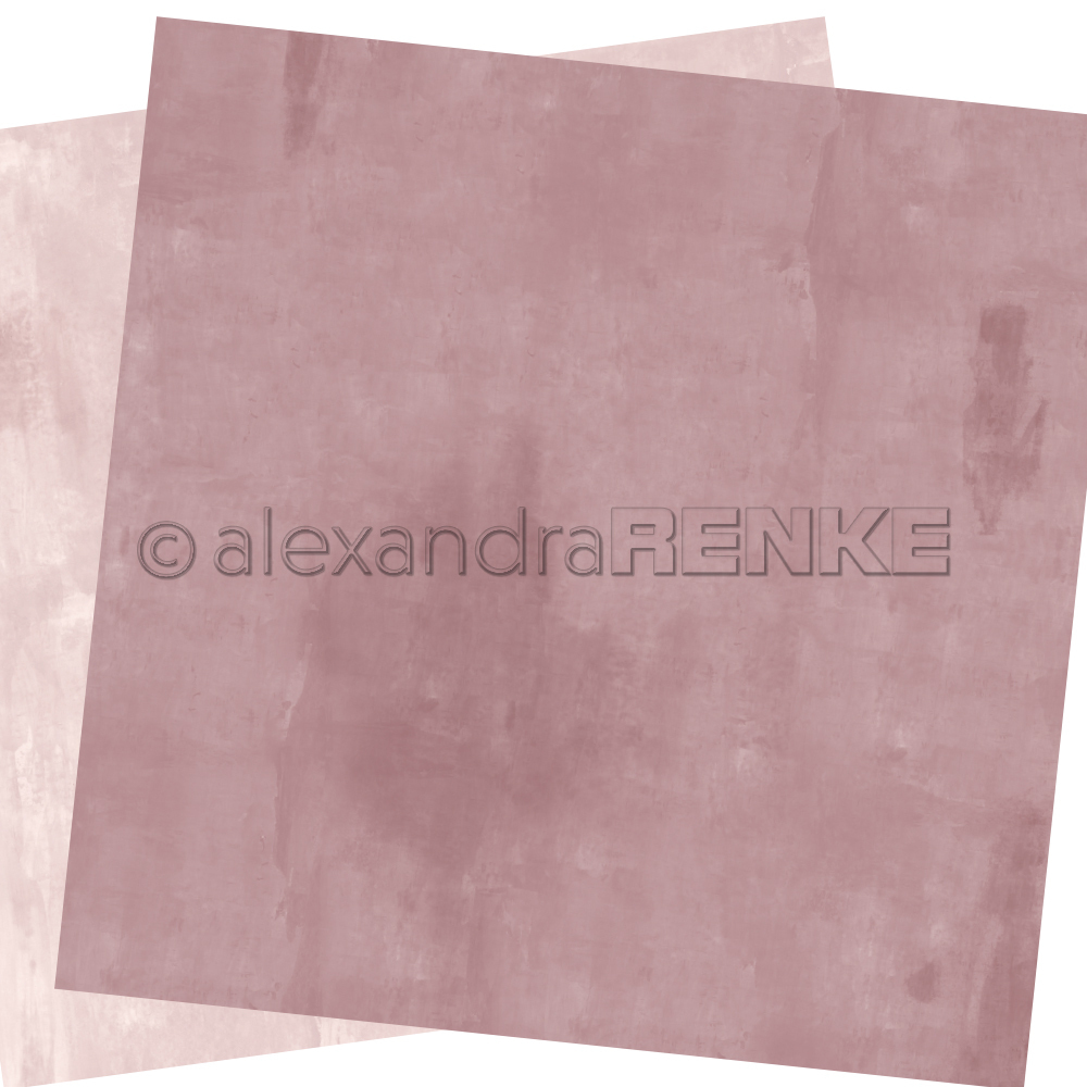 A. RENKE - Carta double-sided 'old pink'