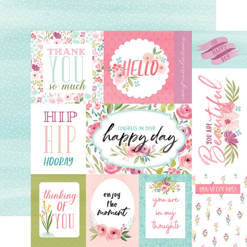 CARTABELLA-FLORA N.3-BRIGHT JOURNALING CARDS