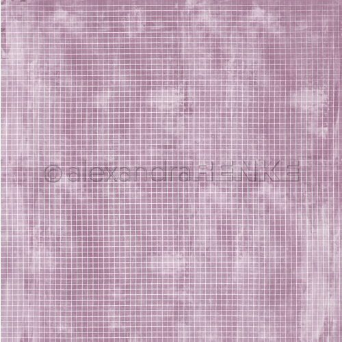 A. RENKE-Carta  'Checkered on PLUM '