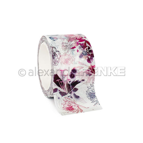 A. RENKE-Washi Tape ''Flowers All Over''