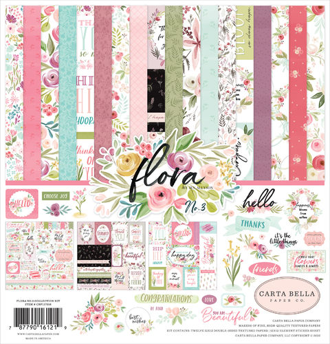 CARTABELLA FLORA NO. 3 COLLECTION KIT