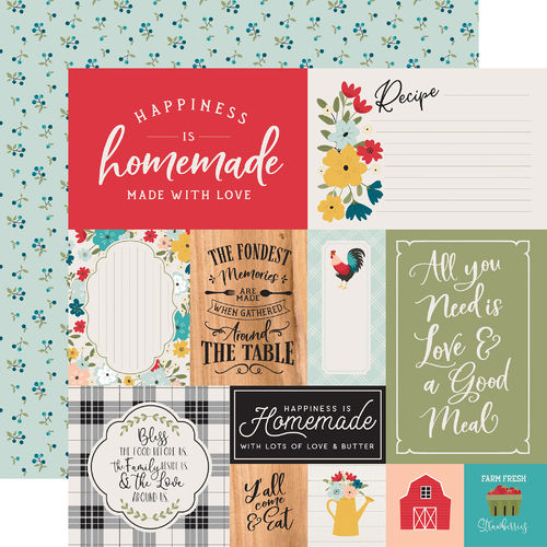 ECHO PARK - Farmhouse Kitchen MULTI JOURNALING CARDS
