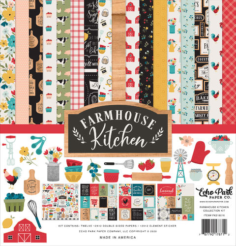 ECHO PARK - Farmhouse Kitchen COLLECTION KIT