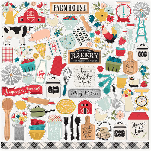 ECHO PARK - Farmhouse Kitchen ELEMENT STICKER