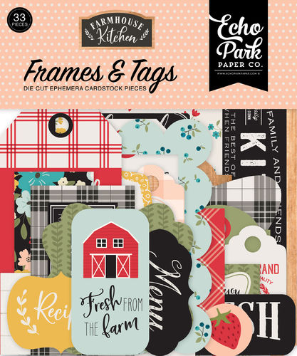 ECHO PARK - Farmhouse Kitchen FRAMES & TAGS