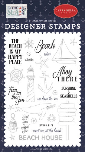 CARTABELLA - By the sea - AHOY THERE STAMP SET