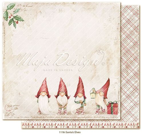 MAJA DESIGN Traditional Christmas-Santa´s Elves